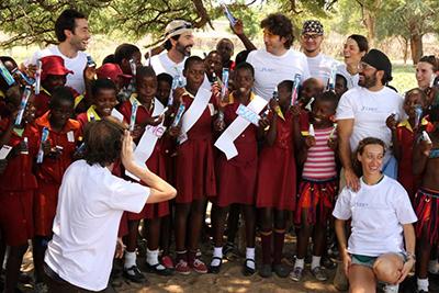 Grupo PerioCentrum en Sonrisas para Zimbabue 2015