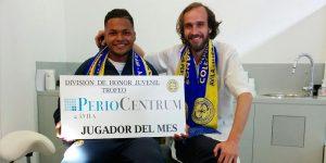 El Dr. Ramón Lorenzo, patrocina al club de fútbol de los Colegios Diocesanos y este mes nos presenta a Camilo como mejor jugador