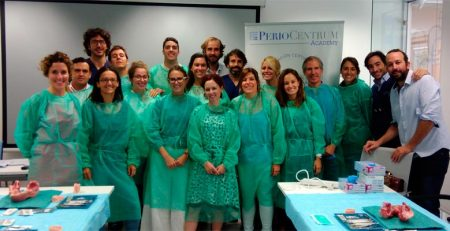 X edición del curso Manejo Tejidos Blandos de PerioCentrum Academy