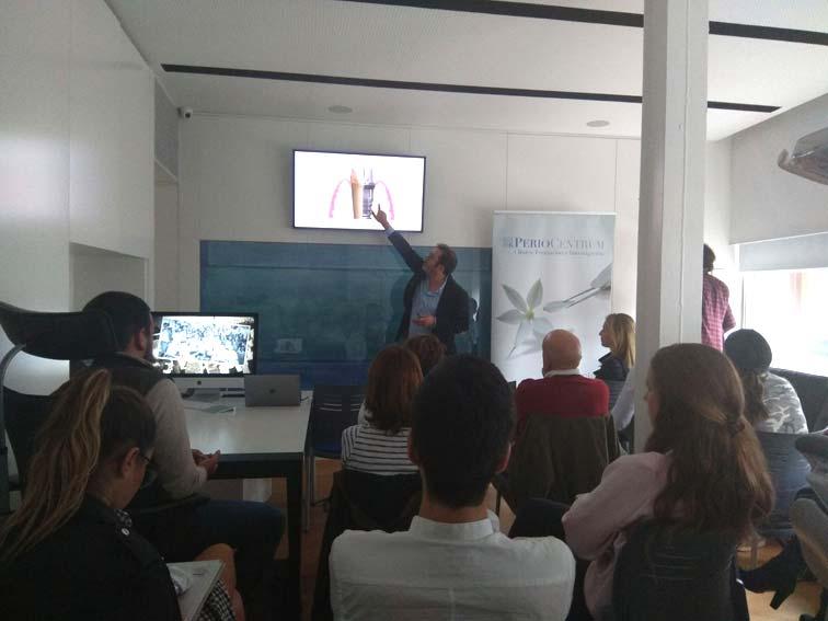 Jornada de formación Study Club en PerioCentrum Bilbao