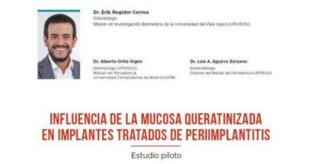El Dr. Erik Regidor publica un nuevo artículo en la revista especializada Gaceta Dental