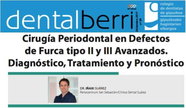 Artículo científico del Dr. Suárez, PerioCentrum San Sebastián