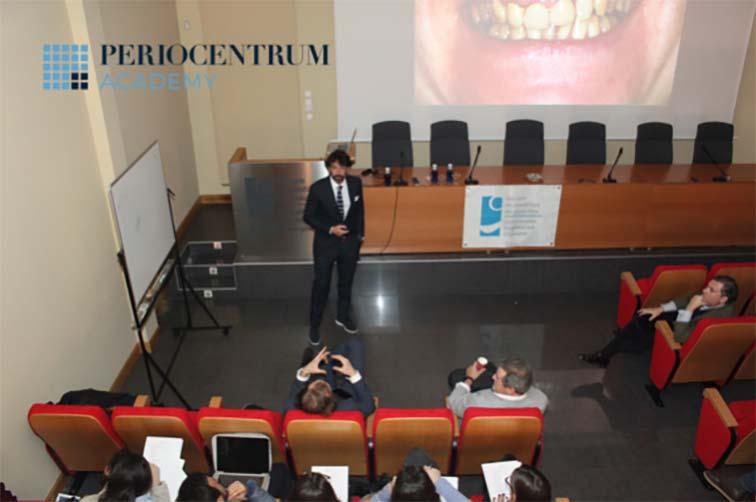 Los Dres. Suarez, Oteo y Lorenzo en el Colegio de Odontólogos de Gipuzkoa