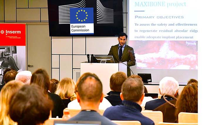 Investigación y desarrollo clínico a nivel europeo-Proyecto H2020 Maxibone