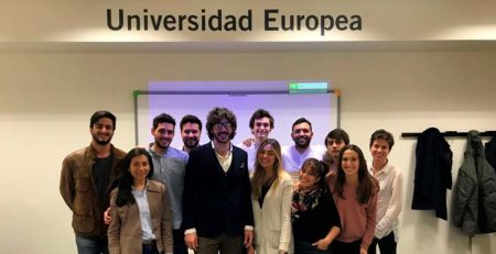 Vignoletti y Lorenzo en la Universidad Europea de Madrid
