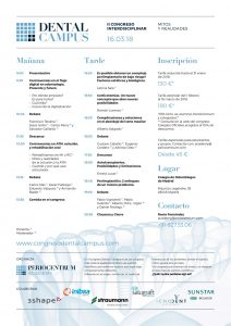 Programa II Congreso Dental Campus