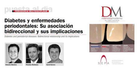 El Dentista Moderno publica el artículo científico del Dr. Montero y expertos SEPA