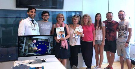 PerioCentrum Bilbao recibe la visita de un grupo de odontólogos ucranianos
