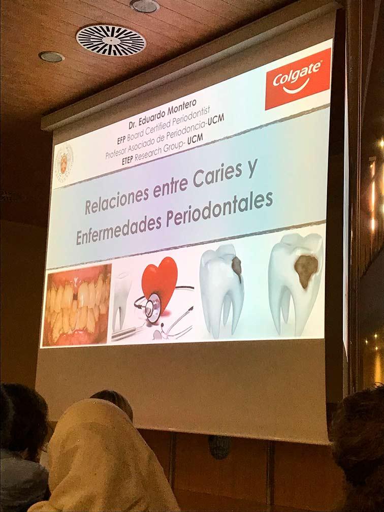 Ponencia del Dr. Montero en el colegio de odontólogos de Valencia
