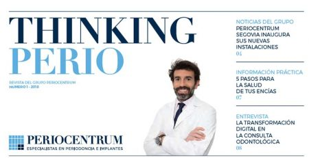 PerioCentrum lanza la revista Thinking Perio para pacientes