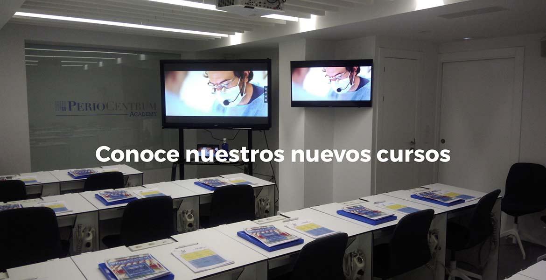 Nuevos cursos formación Periocentrum 2019